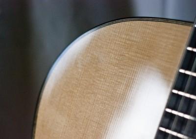 Guitare Jazz petite bouche Damien Leturcq détail