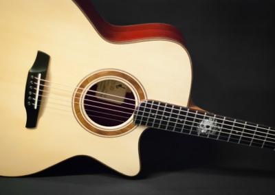 Guitare Jumbo Damien Leturcq