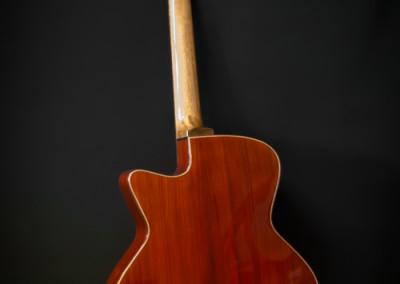 3.Guitare Jumbo Damien Leturcq face arrière