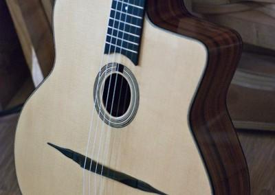 Guitare Jazz petite bouche Damien Leturcq profil (2)